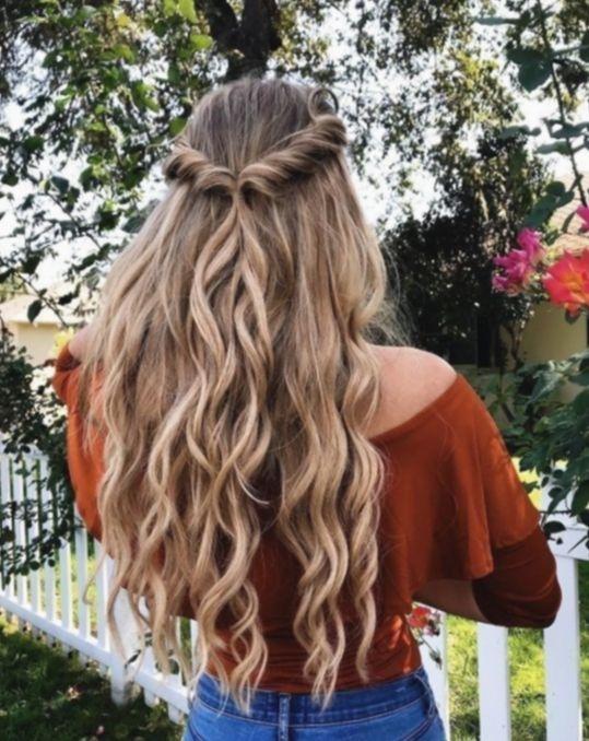 Elegant hairstyles for school dances curls haircut waves Braided Hairstyles For School Dances Ideas