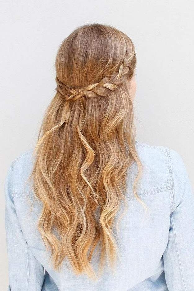 Elegant homecoming dance hairstyles inspiration perfect for the Braided Hairstyles For School Dances Choices
