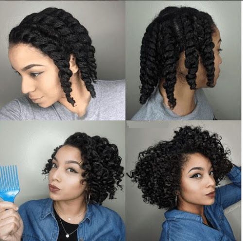 Elegant how to curl your hair without heat no heat curls tutorials Styling Short Black Hair Without Heat Inspirations