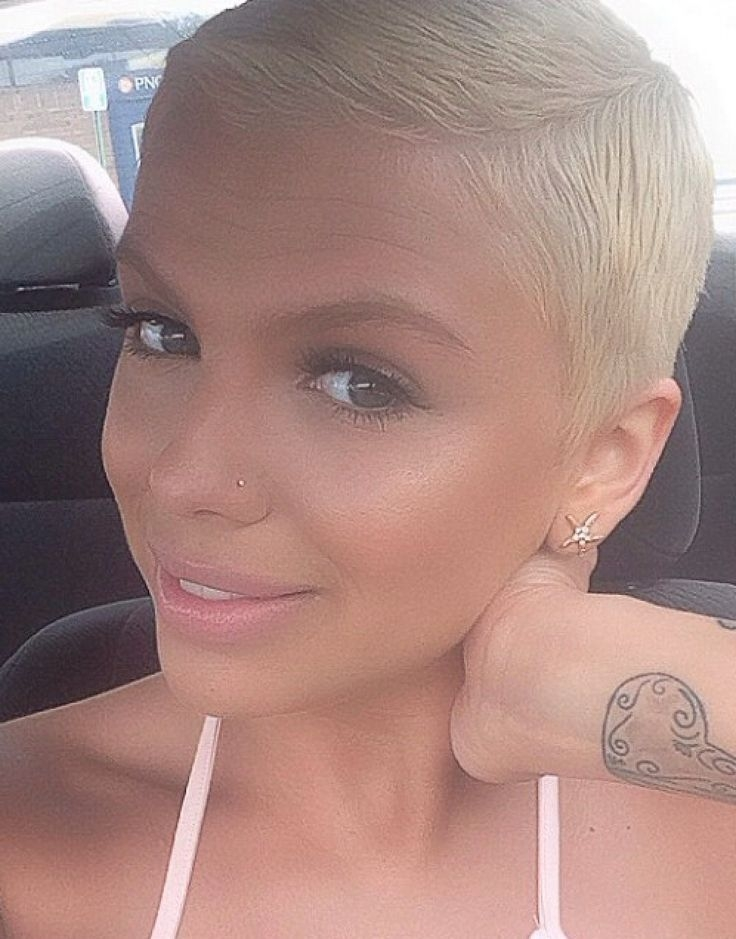 Elegant image result for ultra short buzz hairstyles for women Ultra Short Pixie Haircut Inspirations