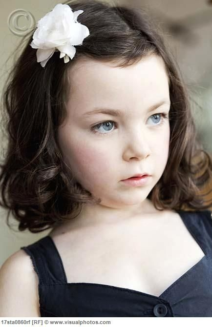 Elegant little girl haircuts for wavy hair hairstyles for little Cute Little Girl Hairstyles For Short Curly Hair Inspirations