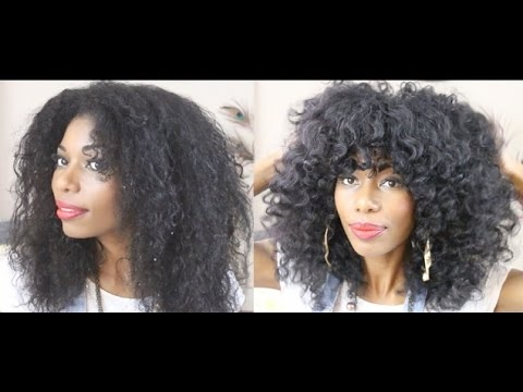 Elegant natural hairstyle how i style my layered haircut Layered Haircuts For African American Hair Ideas