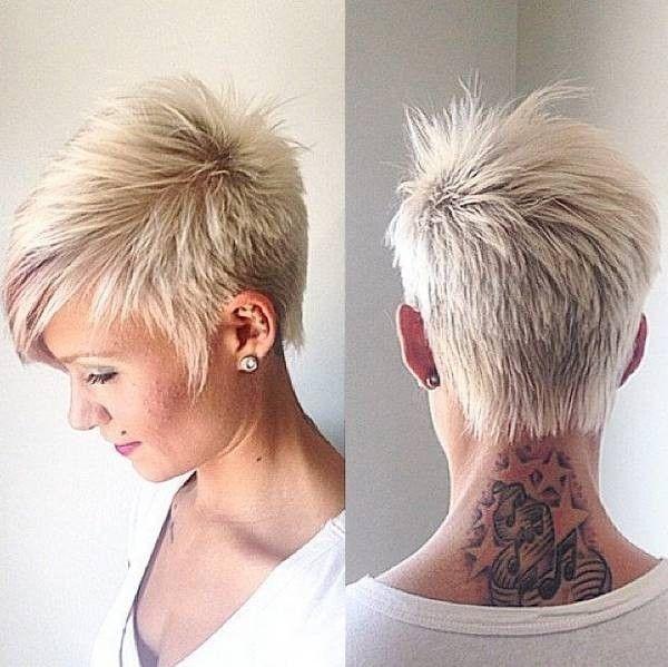 Elegant pin cherri henderson on hair in 2020 short hair Short Funky Hair Styles Ideas