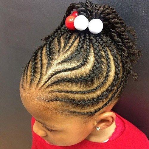 Elegant pin on althea Children Hair Braided Styles Ideas