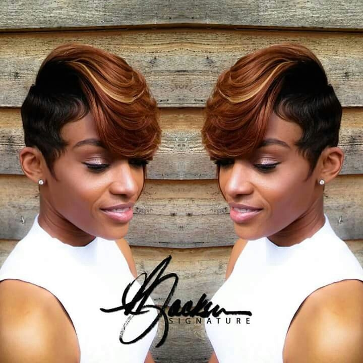 Elegant pin on breezy African American Short Quick Weave Hairstyles Ideas