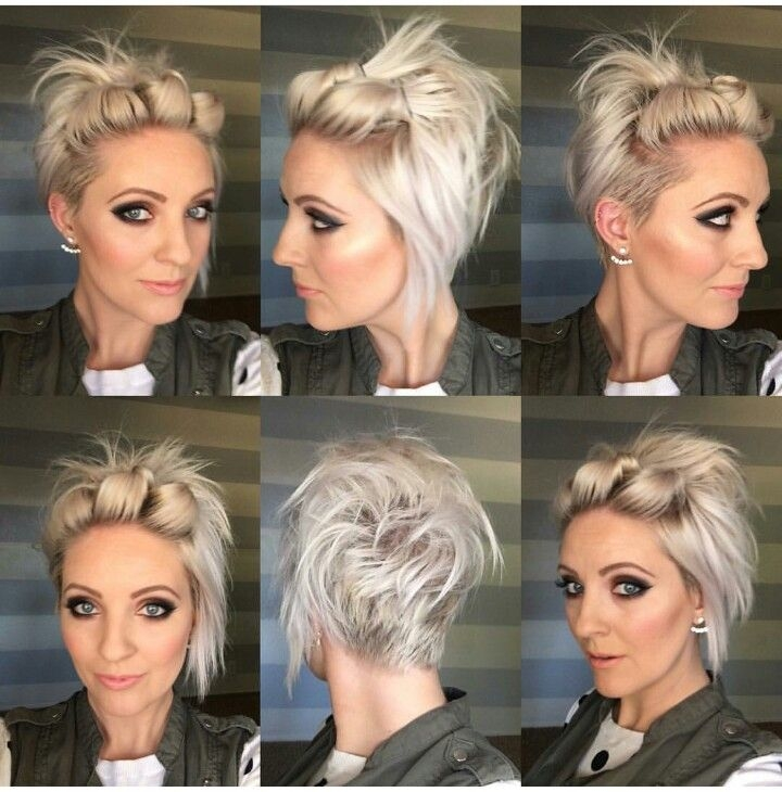 Elegant pin on cute hair and nails Styling My Short Hair Ideas