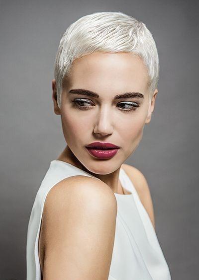 Elegant pin on dont make me go short hair on you Short White Hair Styles Inspirations