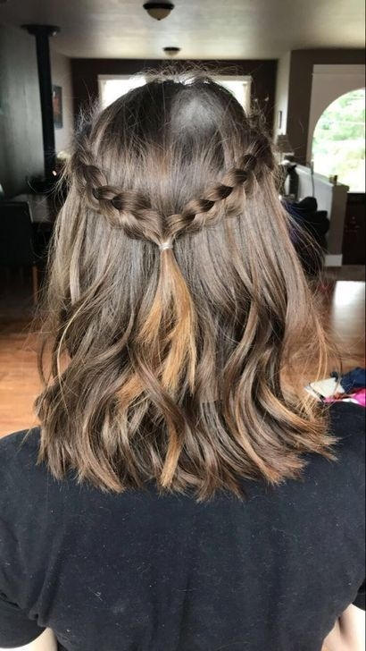 Elegant pin on get ready Cute Hairstyles For Short Hair For High School Ideas