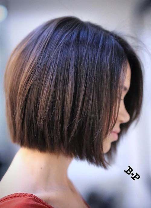 Elegant pin on hair and make up Short Bob Haircuts For Women Ideas