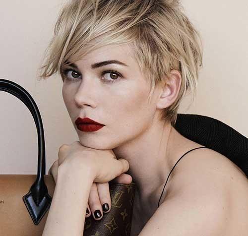Elegant pin on hair Famous Short Hair Styles Ideas