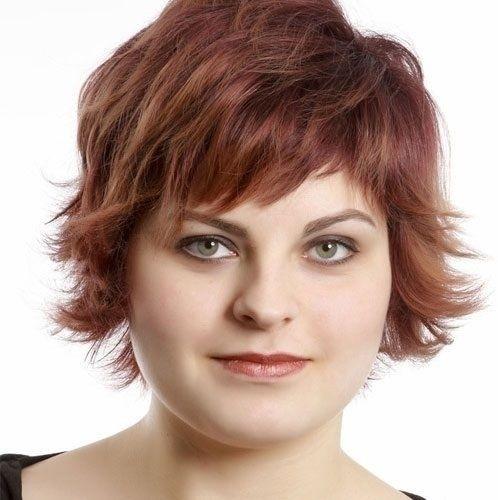 Elegant pin on hair hair hair Short Hairstyles For Full Faces Inspirations