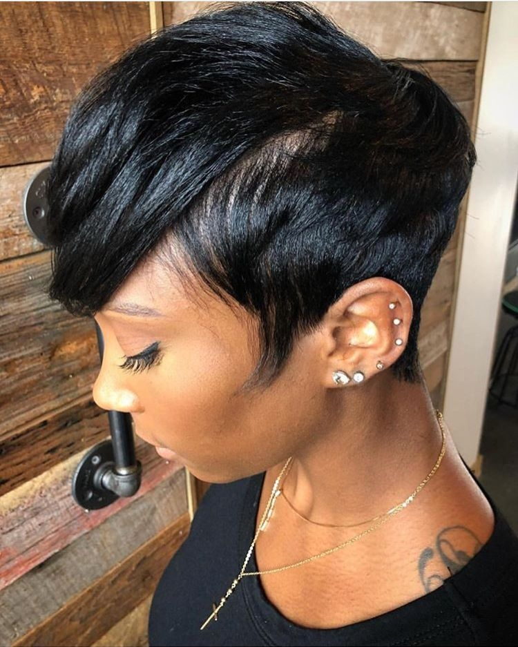 Elegant pin on hair Ways To Style Short African American Hair