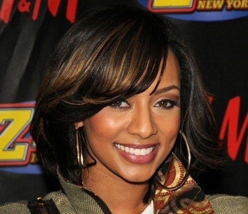 Elegant pin on projects to try African American Layered Hairstyles With Bangs Ideas