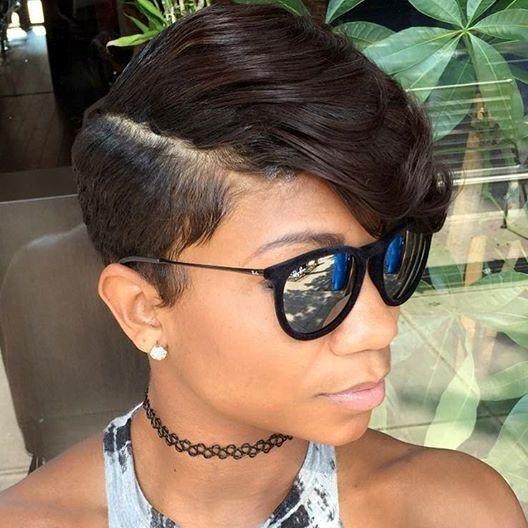 Elegant pin on short hair styles Black Styles For Short Hair Inspirations