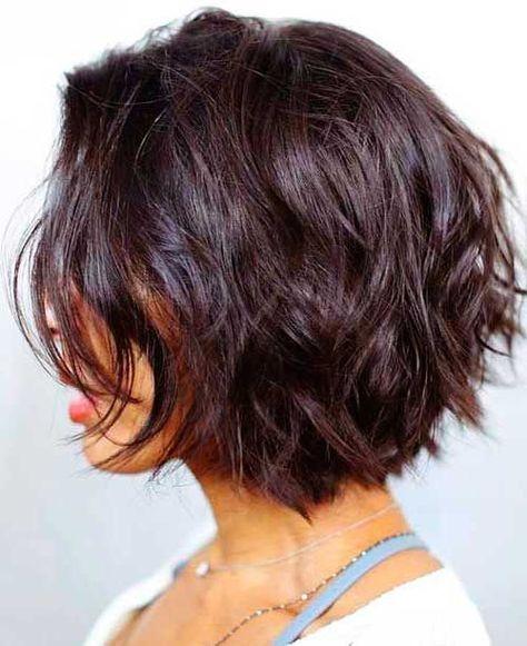 Elegant pin on short textured bob Short Bobbed Hair Styles Ideas
