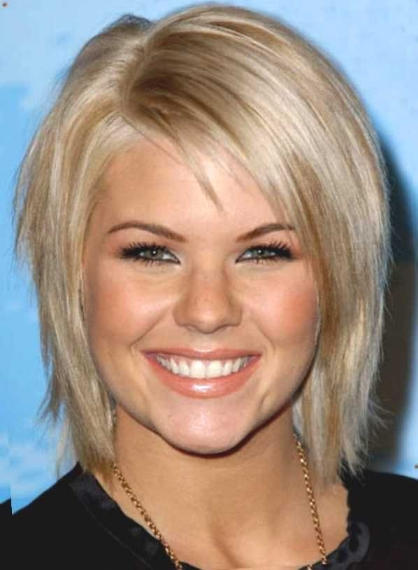 Elegant pin on style Short Haircuts For Fine Thin Hair Long Face Choices