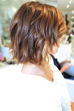 Elegant pin on styles for wavy hair Short Long Layered Haircuts Inspirations