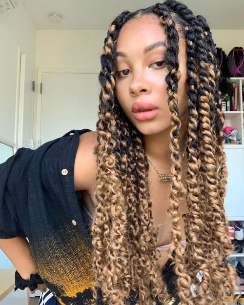 Elegant pin on twisted hairstyles for black women African American Twist Hairstyle Designs
