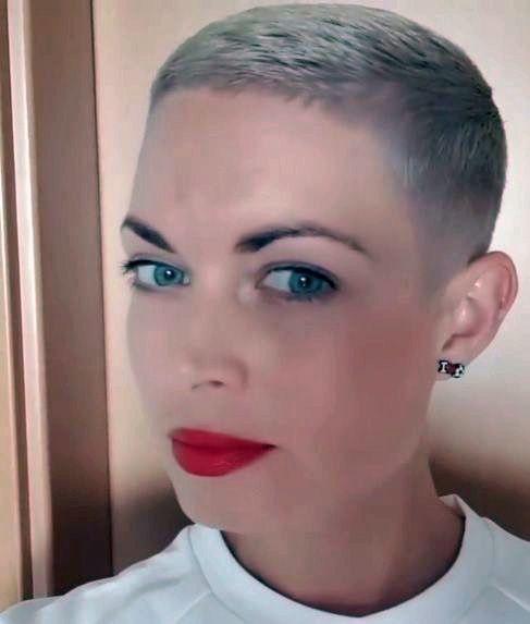 Elegant pin on ultra short crops Ultra Short Pixie Haircut Inspirations