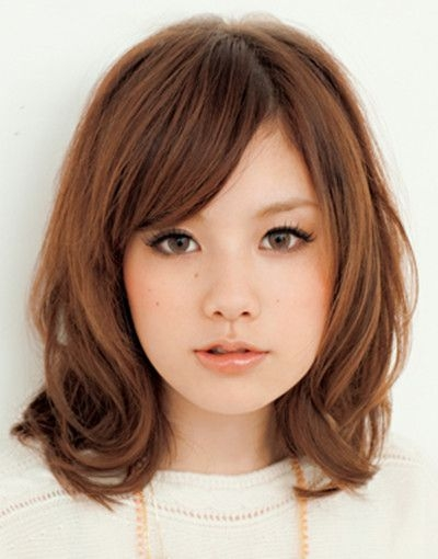 Elegant pin on unique looks Short Hair For Round Face Asian Inspirations