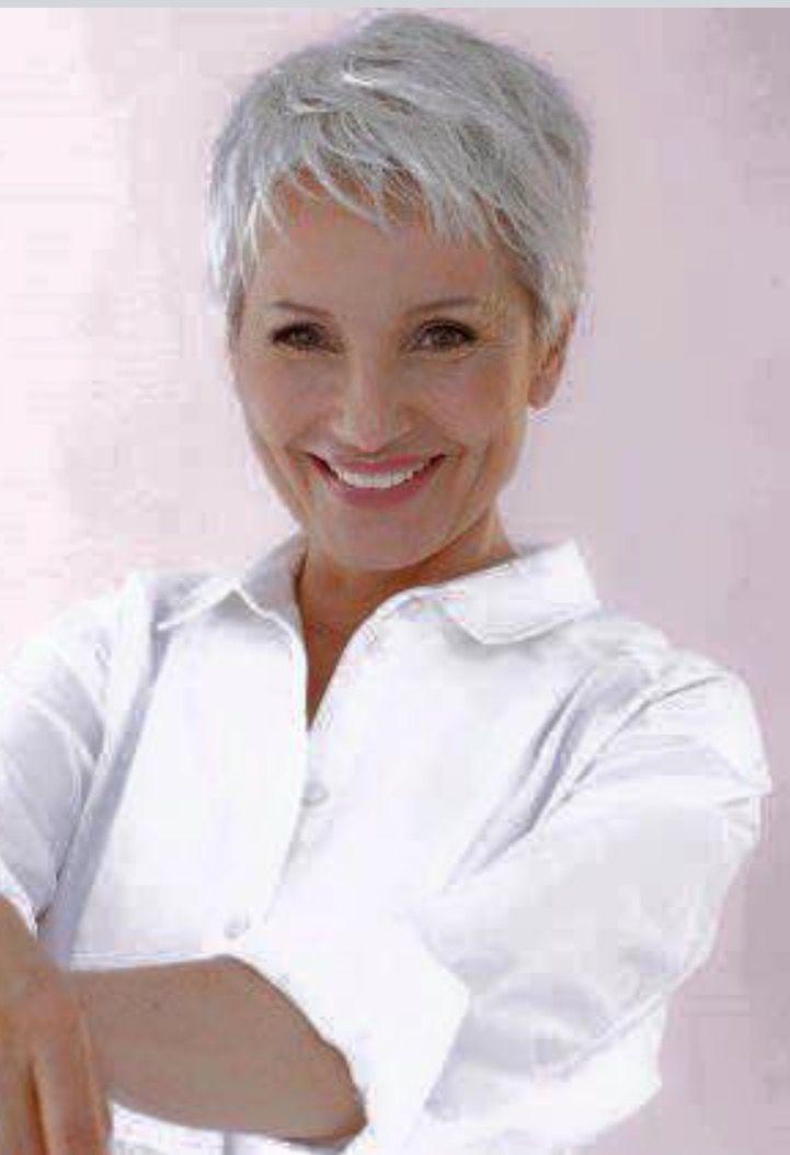 Elegant short hair gray short hair styles pixie short hair Short Haircuts For Grey Hair Inspirations
