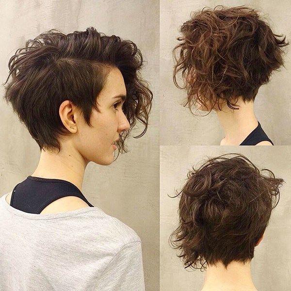 Elegant short haircut for thick curly hair best short curly hair Short Hairstyle For Thick Curly Hair Ideas