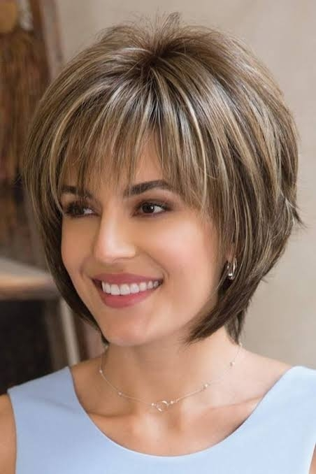 Elegant short haircuts for chub faces 35 Short Hairstyles For Full Faces Ideas