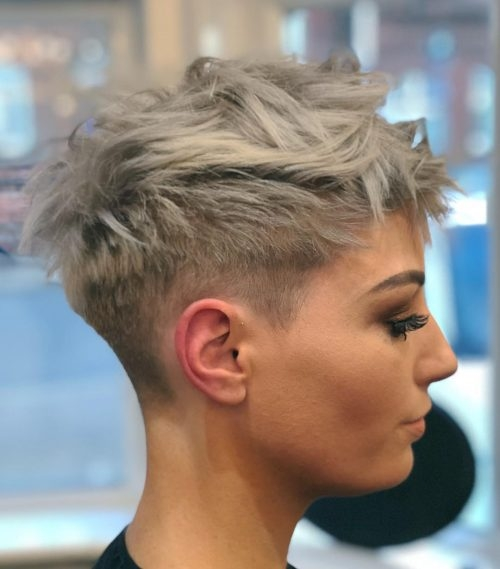 Elegant the 15 best short hairstyles for thick hair trending in 2020 Short Pixie Hairstyles For Thick Hair Inspirations