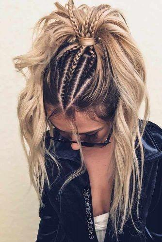 Elegant the more braids the better tumblr hair hair styles Hair Braid Styles Tumblr Choices