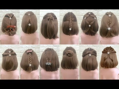 Elegant top 30 amazing hairstyles for short hair best hairstyles for girls part 4 Styling Short Hair For Girls Inspirations
