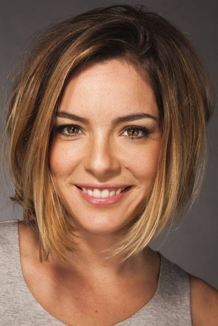 Elegant top hairstyles models short haircuts for thick hair and Short Hairstyles For Thick Hair And Long Face Ideas