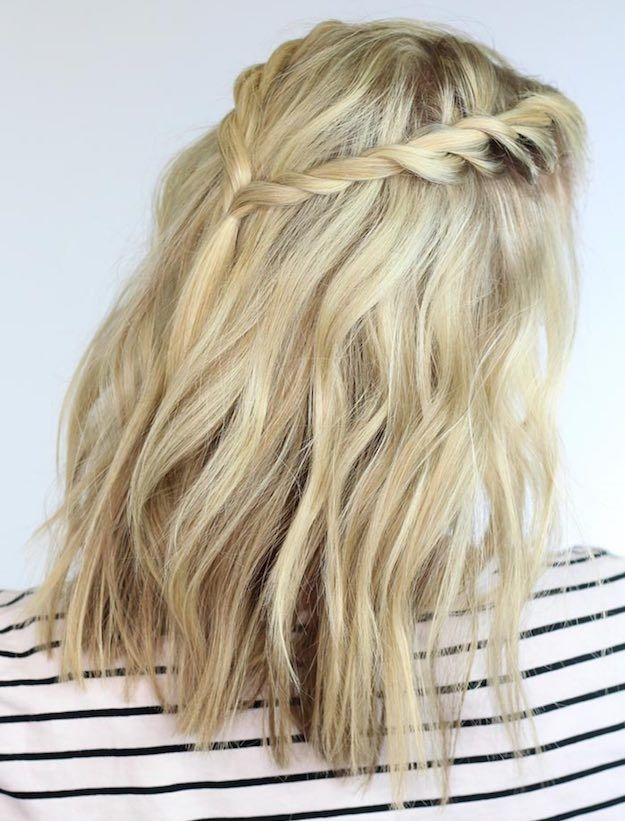 Elegant twisted braids stylish back to school hairstyles for short Cute And Easy Back To School Hairstyles For Short Hair Inspirations