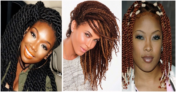 Elegant twists 11 awesome african american celebrities with twist African American Celebrity Hairstyles Designs