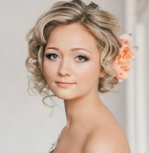 Elegant very short curly hairstyles 500516 short wedding Curly Wedding Hairstyles For Short Hair Inspirations