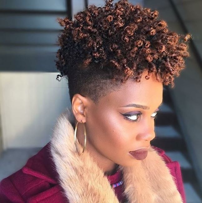 fierce and fabulous shaved hairstyles for black women Abfrican American Shorthairstyles With Shaved Sides