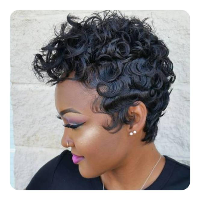 finger waves hairstyle inspirations for the todays classic African American Short Finger Wave Hairstyles