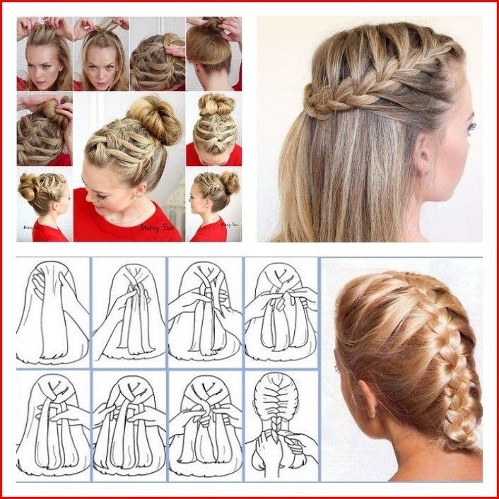 french braid hairstyles tutorial french braid hairstyles Braided Hairstyles For Long Hair Tutorials Ideas