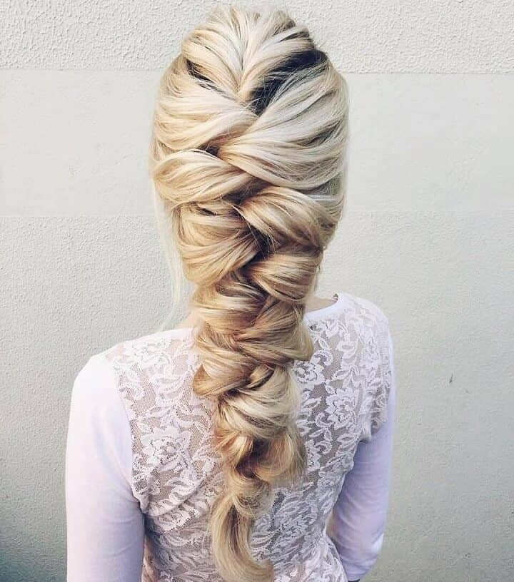 french braid updo wedding French Braid Hairstyles For Weddings Choices