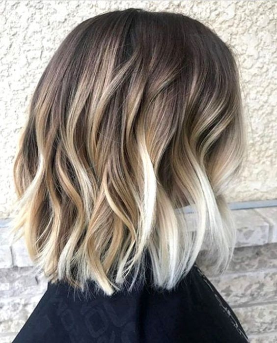 Fresh 10 balayage short hairstyles with tons of texture short Short Hair Styles And Colors Inspirations
