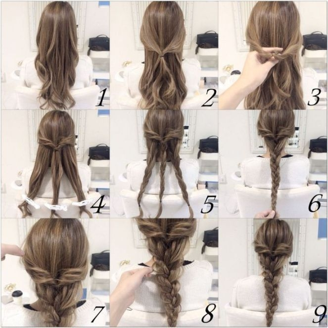 Fresh 10 quick and easy hairstyles step step in 2020 hair Quick Braided Hairstyles For Medium Hair Ideas