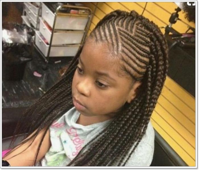 Fresh 103 adorable braid hairstyles for kids African Kids Hair Braid Ideas