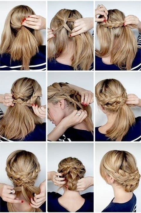 Fresh 12 hottest wedding hairstyles tutorials for brides and Braided Updos For Long Hair Tutorial Inspirations