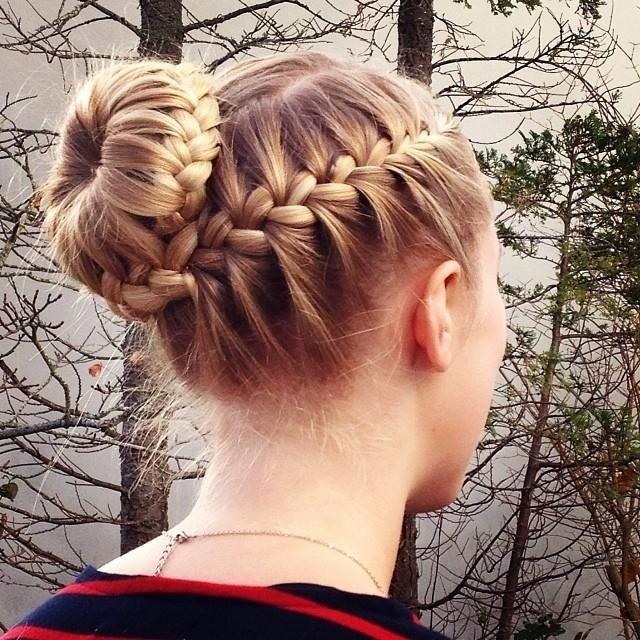 Fresh 15 braided bun updos ideas popular haircuts Braided Hair Bun Styles Ideas