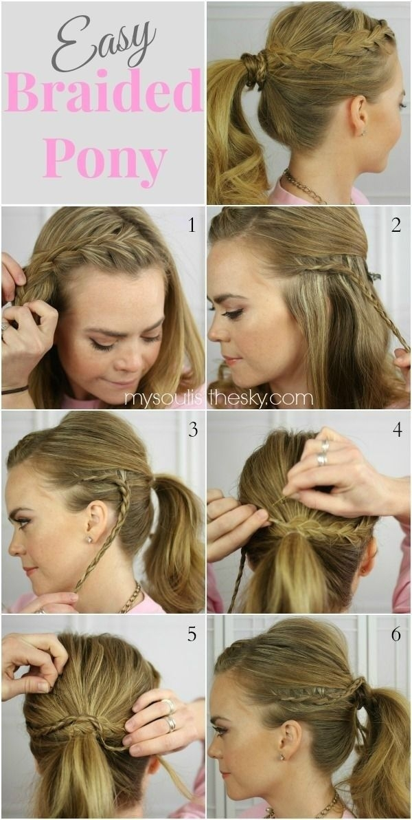 Fresh 15 cute and easy ponytail hairstyles tutorials popular Cute Ponytails For Short Hair For School Ideas