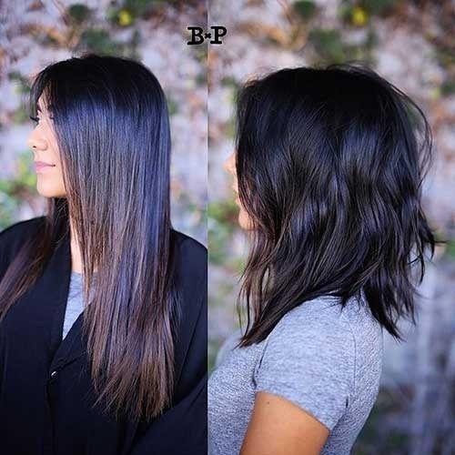 Fresh 17 popular medium length hairstyles for thick hair best Medium Short Haircuts For Thick Hair Choices