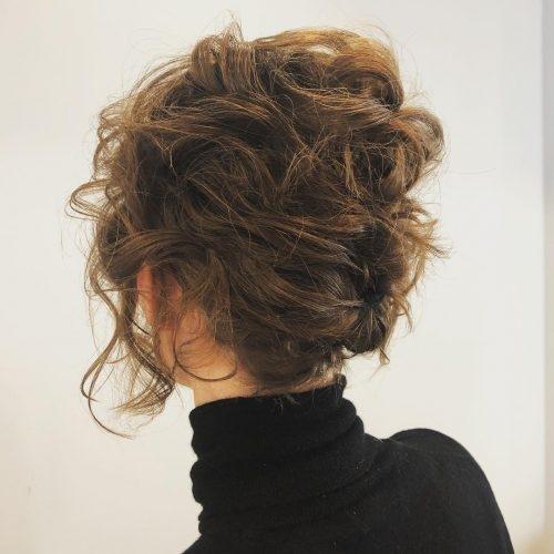 Fresh 19 cute easy updos for short hair Short Hair Styles Updos Ideas
