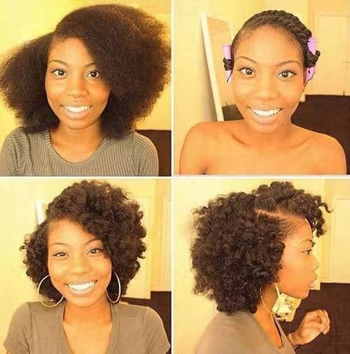 Fresh 19 stunning quick hairstyles for short natural african Quick Styles For Short Black Hair Ideas