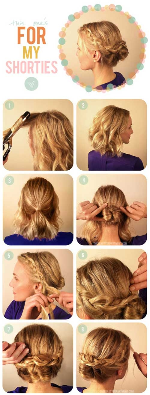 Fresh 20 incredible diy short hairstyles a step step guide Cute Hairstyles To Do At Home For Short Hair Ideas
