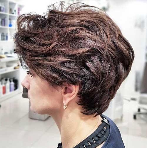 Fresh 20 stylish short haircuts for thick hair short hairstyles Thick Short Hair Styles Ideas