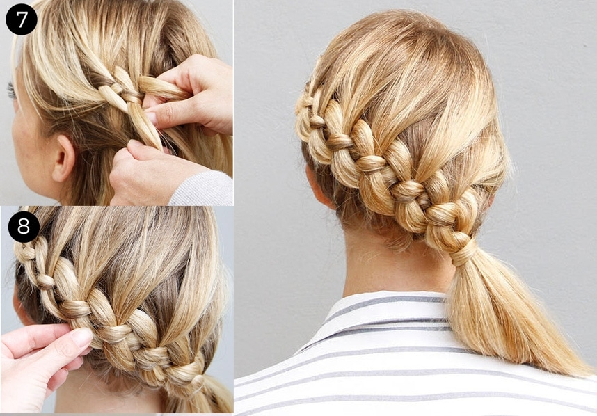 Fresh 21 braids for long hair with step step tutorials Easy Braided Hairdos For Long Hair Ideas